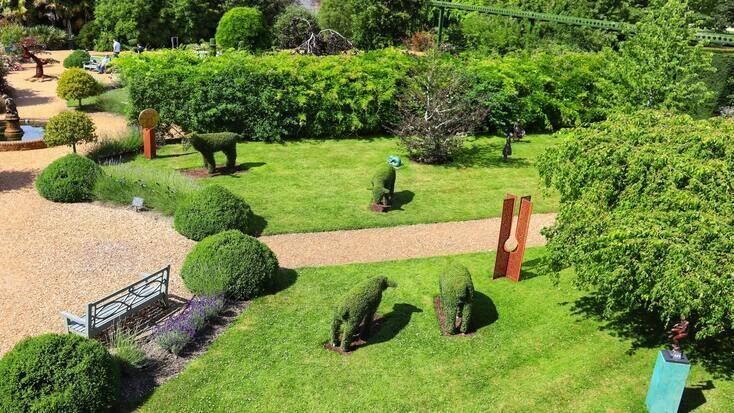 Some sculpture gardens in England