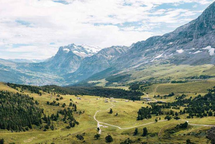 Switzerland hiking here is the best adventure travel at the Haute Route