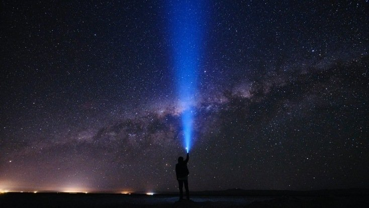 The night sky during a Hawaii vacation