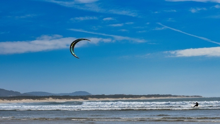 Explore the western coast of Portugal! Some of the best kite surfing in Portugal & beaches nearby are calling.