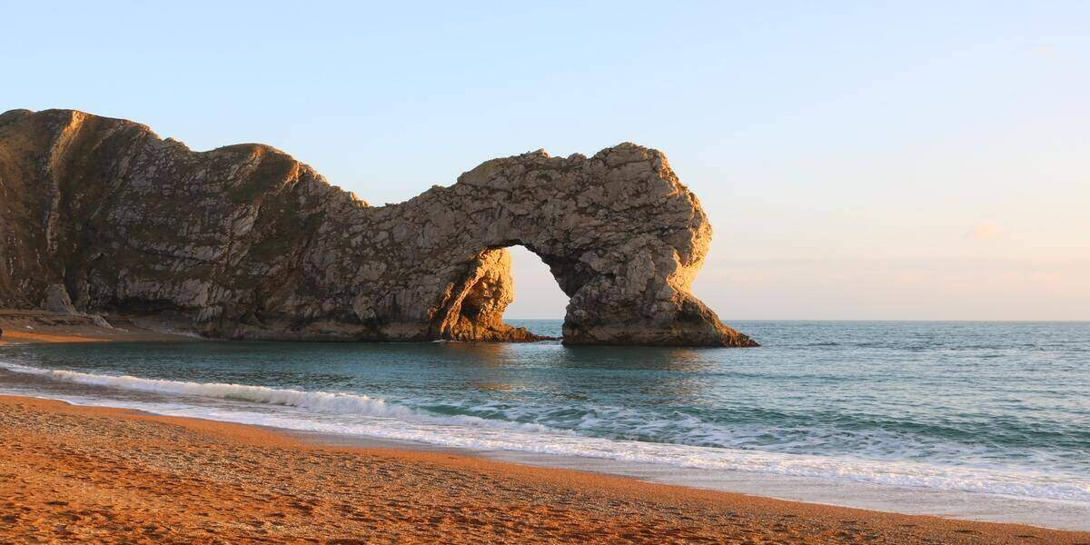 Durdle Door, along the Jurassic Coast in the West Country