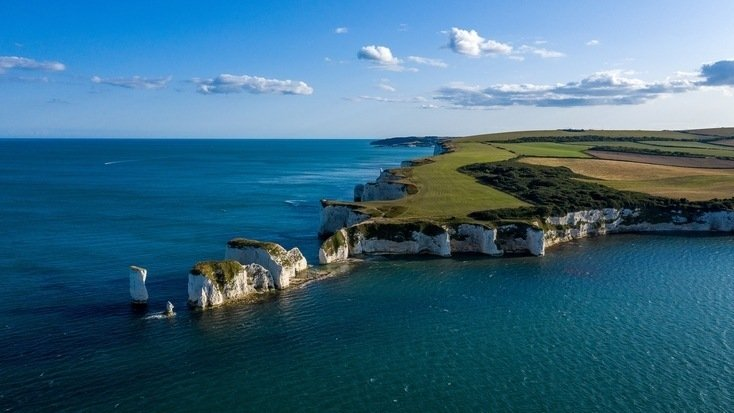Old Harry Rocks, one of the hidden gems in England