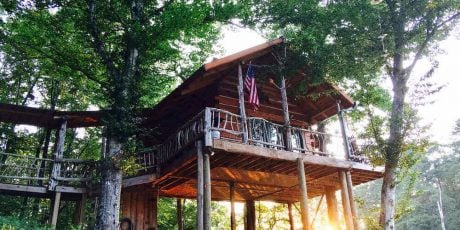 Glamping Hub's Hosts of the Month for June: Dan and Cassi in Georgia