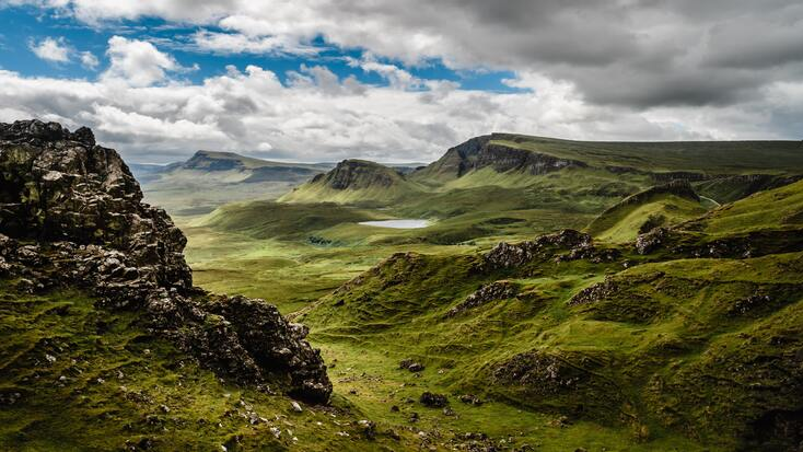 The Scottish Highlands, one of the best Outdoor getaways and camping in Europe