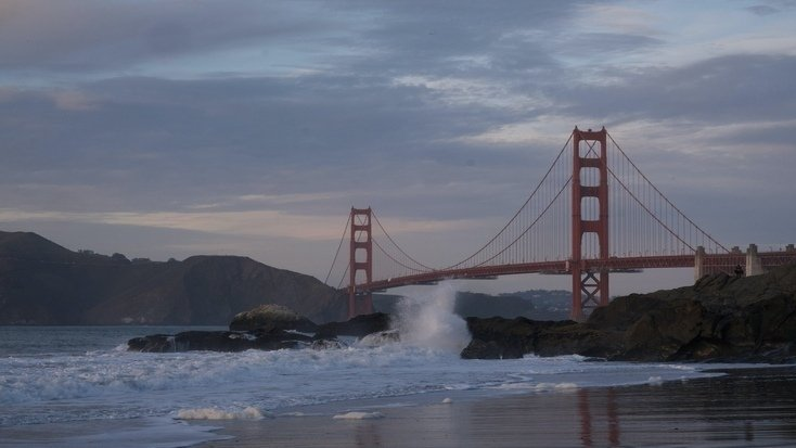 Baker Beach - a great pick of the best places to visit in Northern California