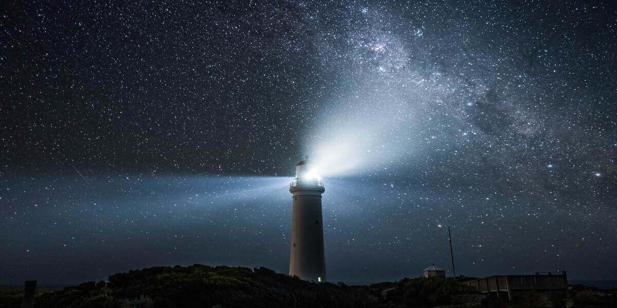A U.S. lighthouse in one of the most beautiful places in America