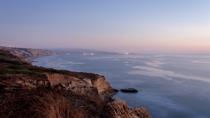 Torrey Pines State Beach - some of the best CA beach camping is here