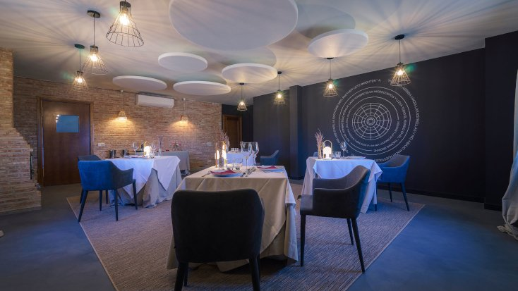 Luxury restaurant experience near Toledo, Spain