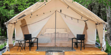 Glamping Hub's Host of the Month for September 2021: Sherry and Houston in Texas